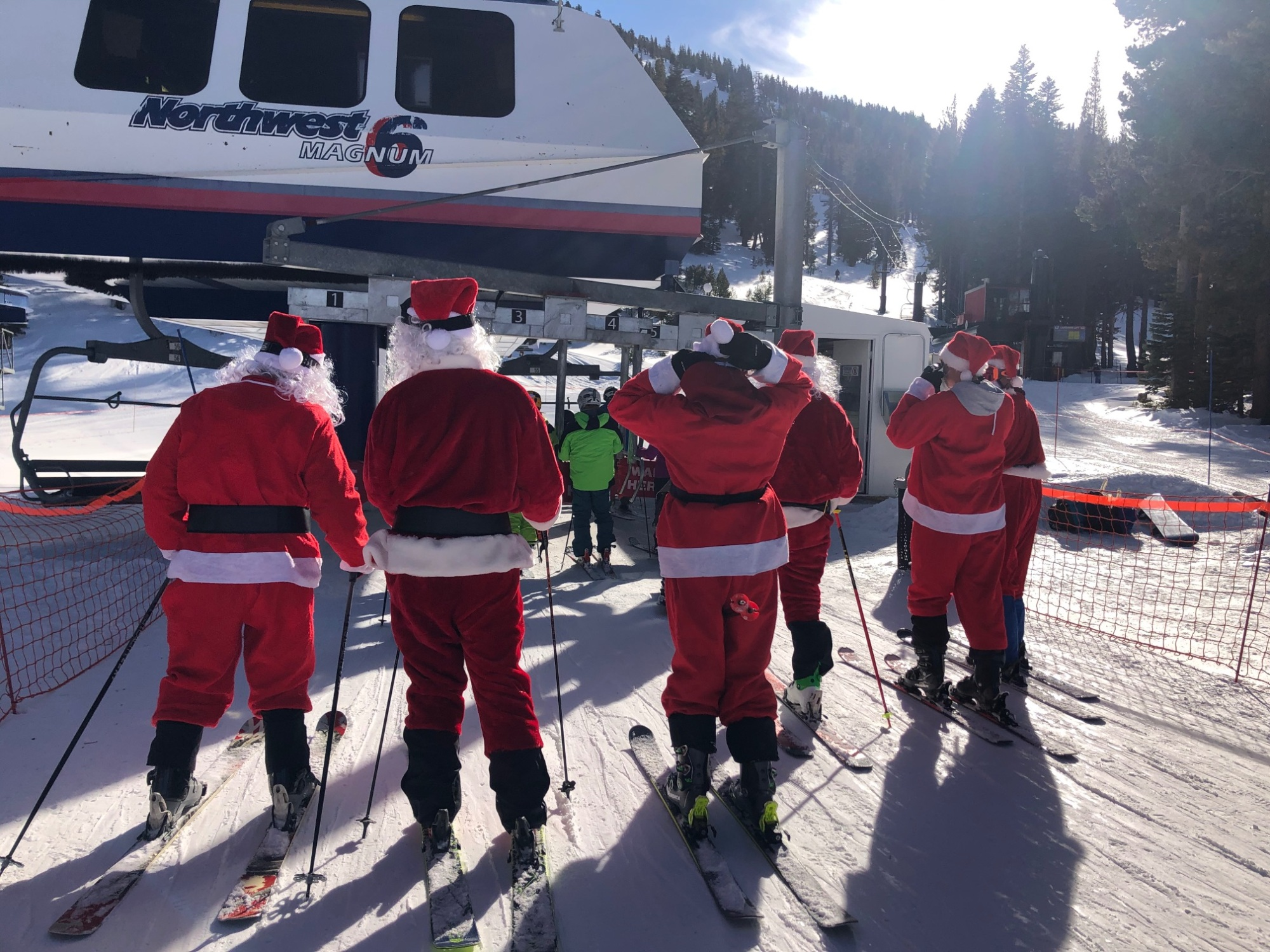 Reno mount rose Santas