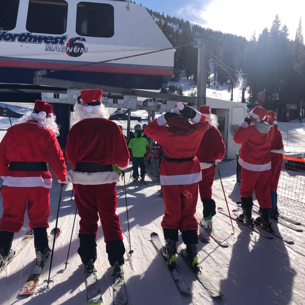 Reno mount rose Santas